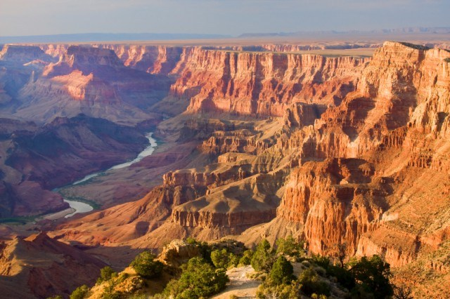 A view of the Grand Canyon