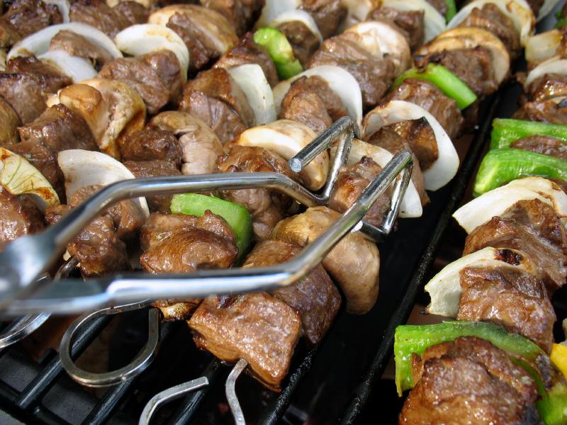steak skewers