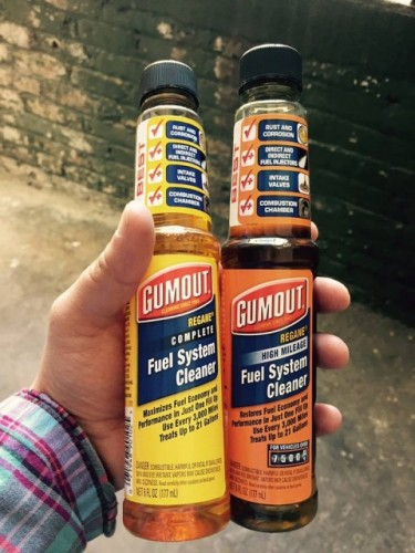 Gumout fuel cleaners