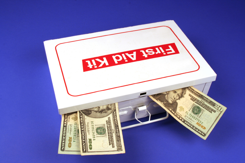 Emergency money stash
