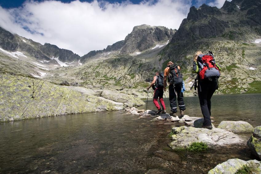mountains, hiking