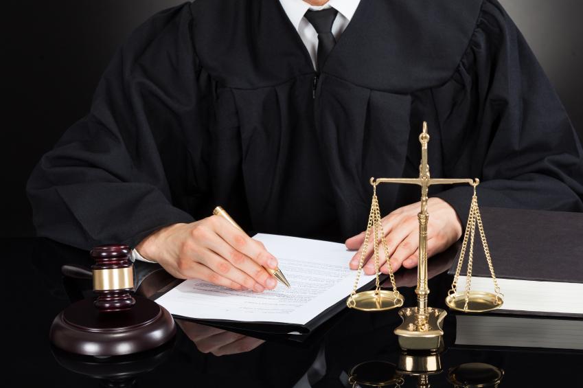 judge and gavel