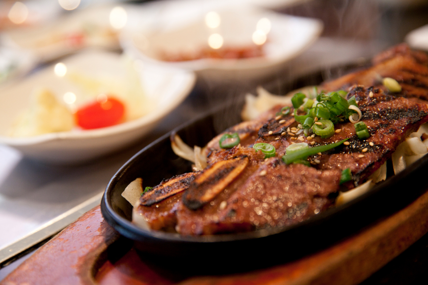 Korean beef ribs