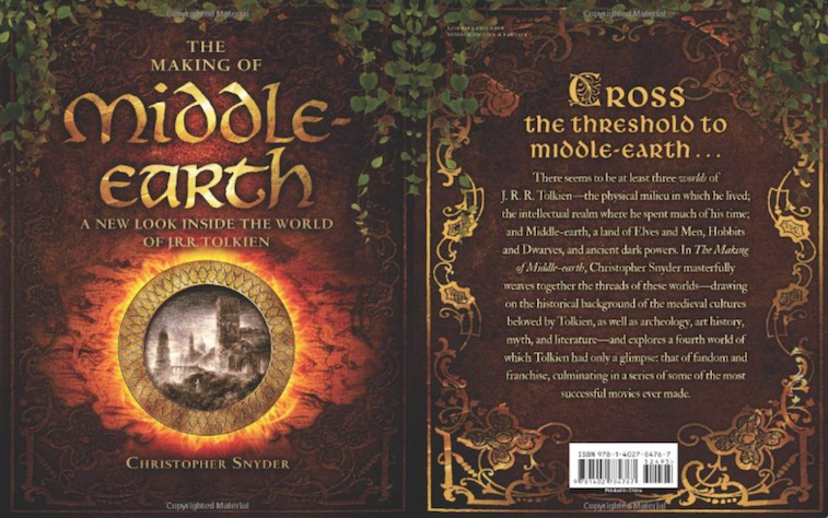 LOTRThe Making of Middle-earth A New Look Inside the World of J. R. R. Tolkien book