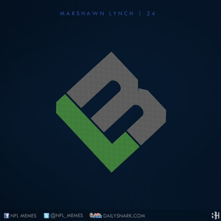 Marshawn Lynch logo