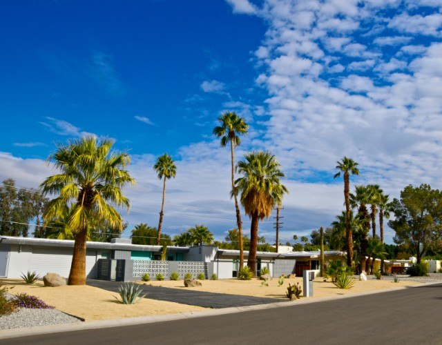 street in Palm Springs