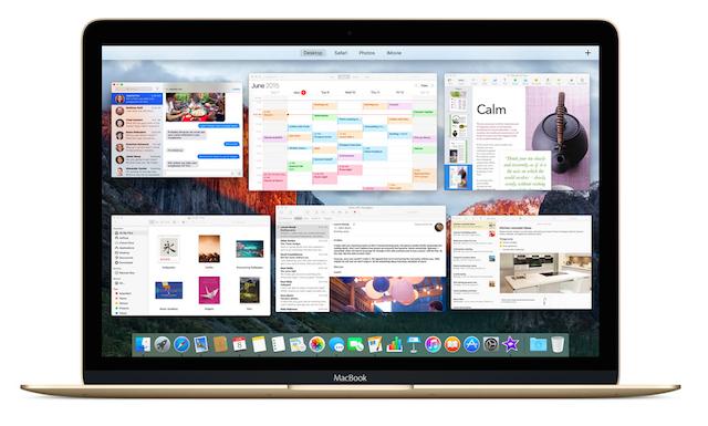 OS X El Capitan on MacBook