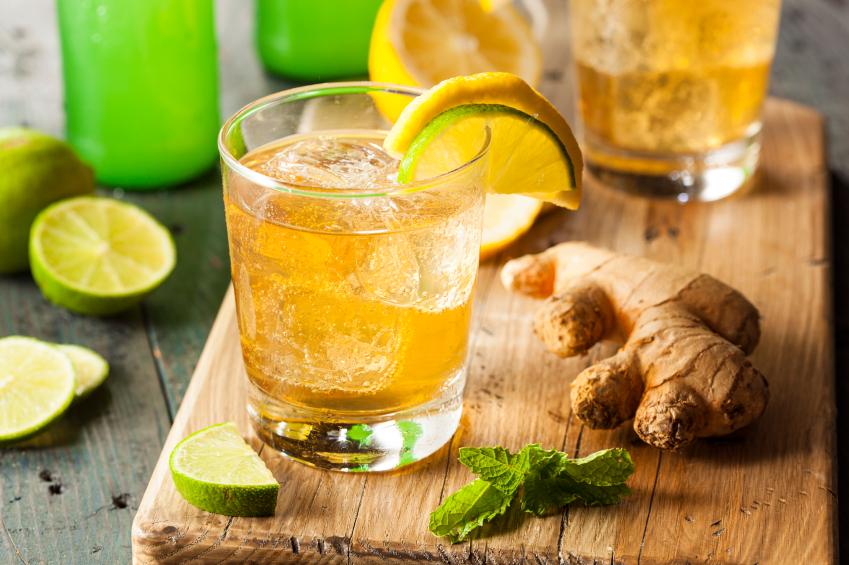 Ginger Ale Soda