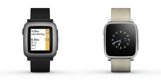 Pebble Time and Pebble Time Steel