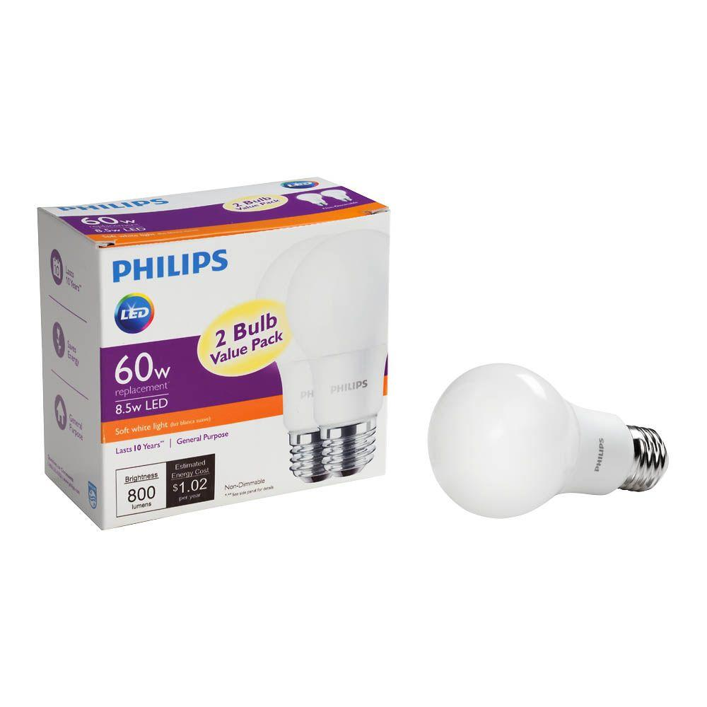 Philips 60W equivalent LED light bulb