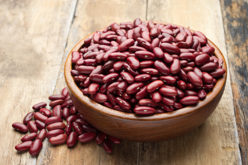 red beans in a bowl