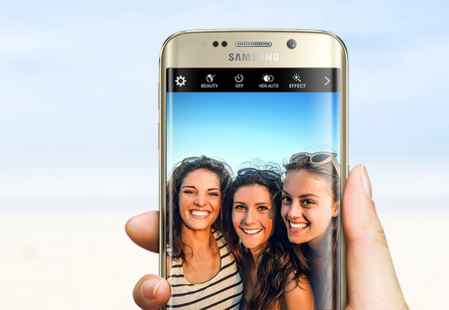 Samsung Galaxy S6 Edge selfie camera