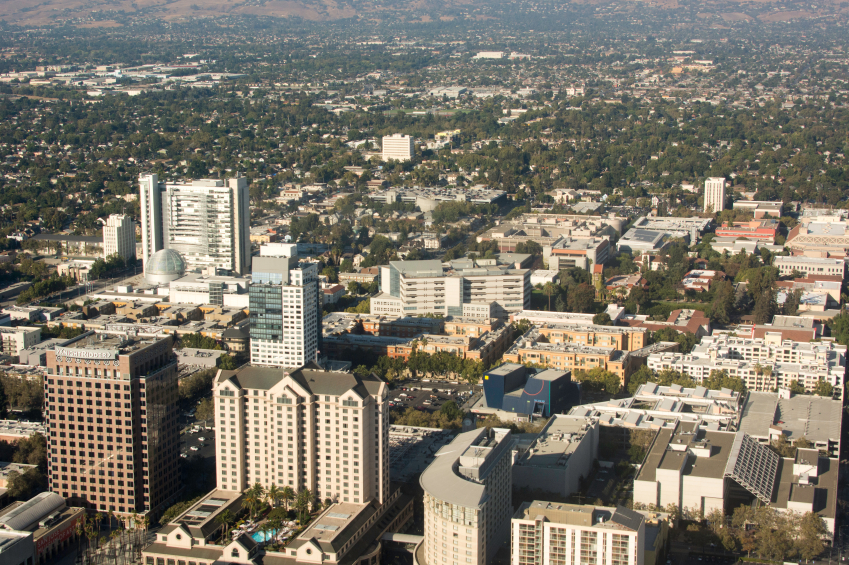 San Jose, California skyline
