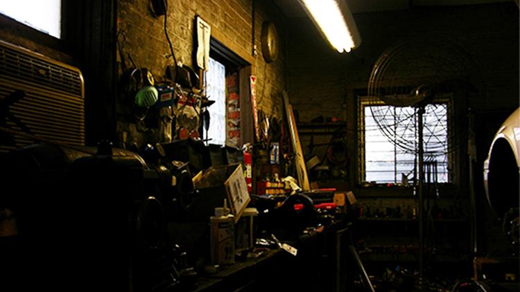 Garage, auto repairs