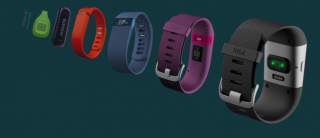 Fitbit product lineup