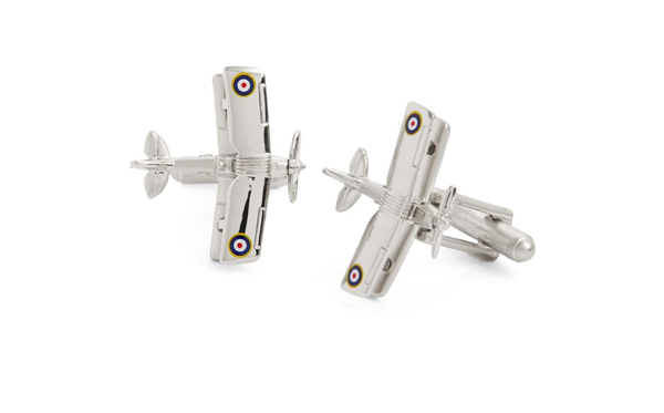 Nordstrom LINK UP bi-plane cufflinks