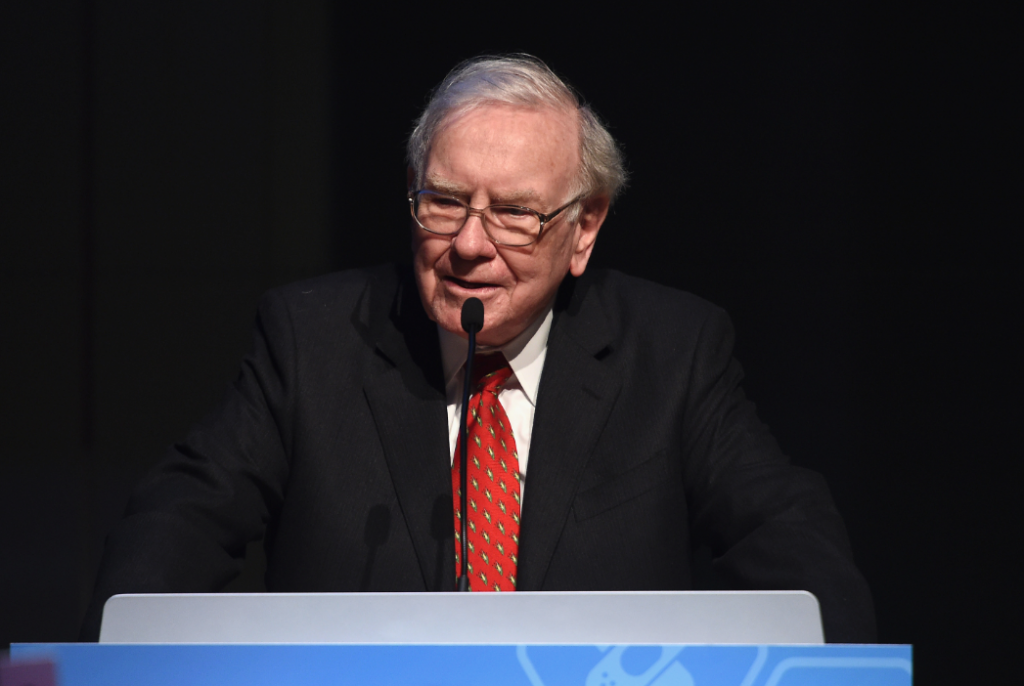 Warren Buffett speaking