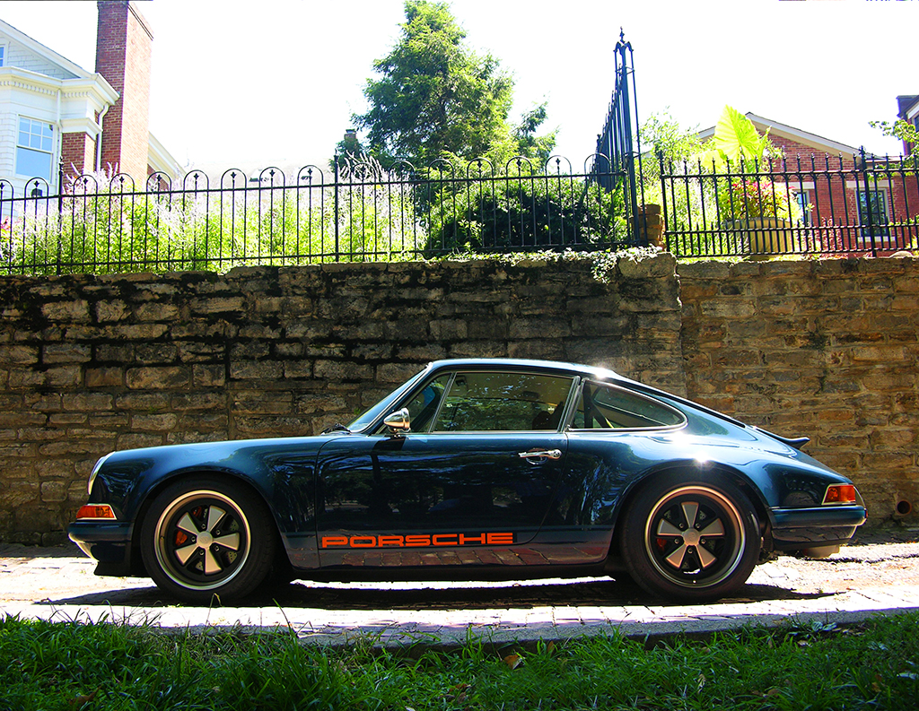 Rock Star Dream Car The Singer Built Porsche Indiana