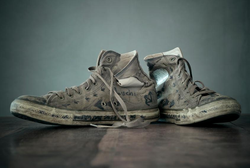 shoes, clothes