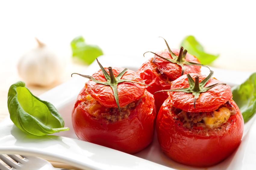 baked tomatoes