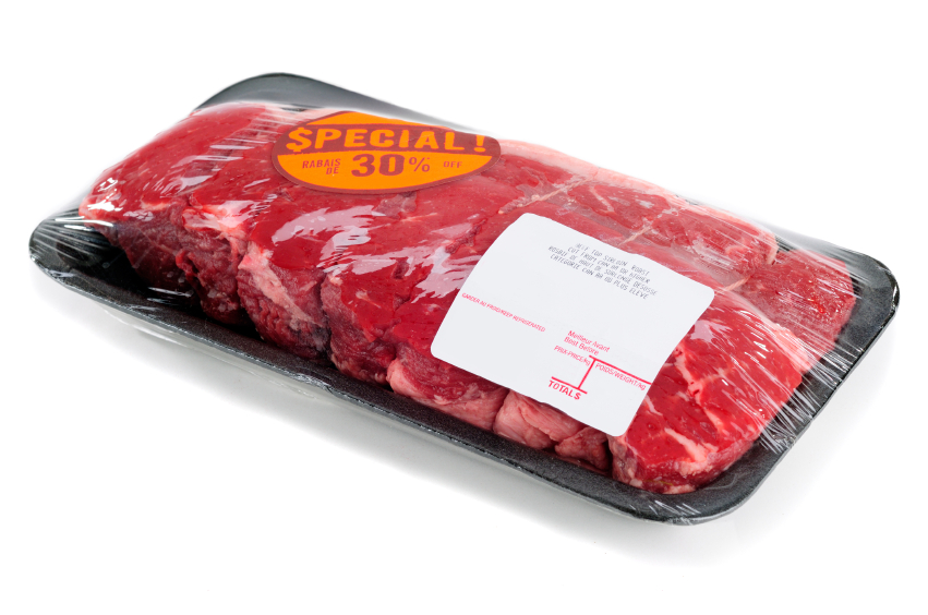 Bulk meat on special