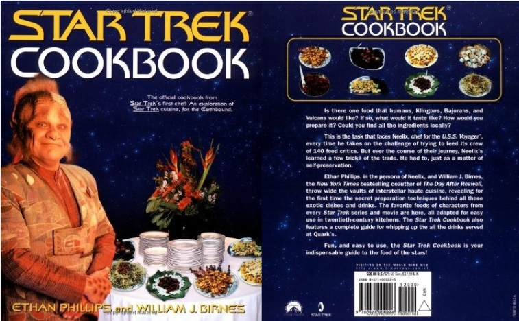 The Star Trek Cookbook
