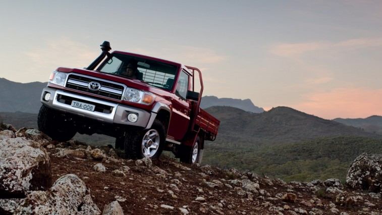 Toyota Land Cruiser 70 Truck