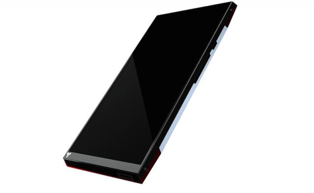 Turing phone with Liquidmorphium liquid metal shell