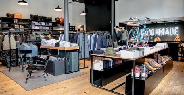 Unionmade menswear store