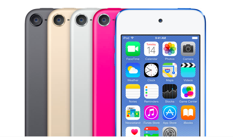 Updated iPod Touch in new colors