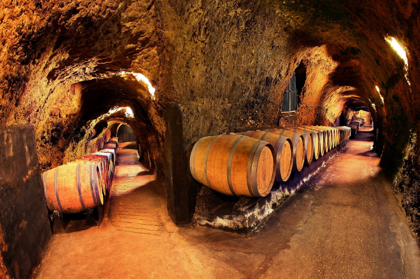 wine caves