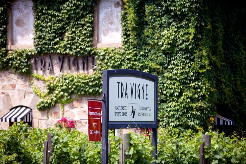 Napa Valley restaurant, wine