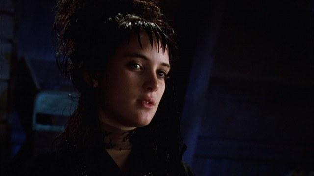 Winona Ryer in 'Beetlejuice.'