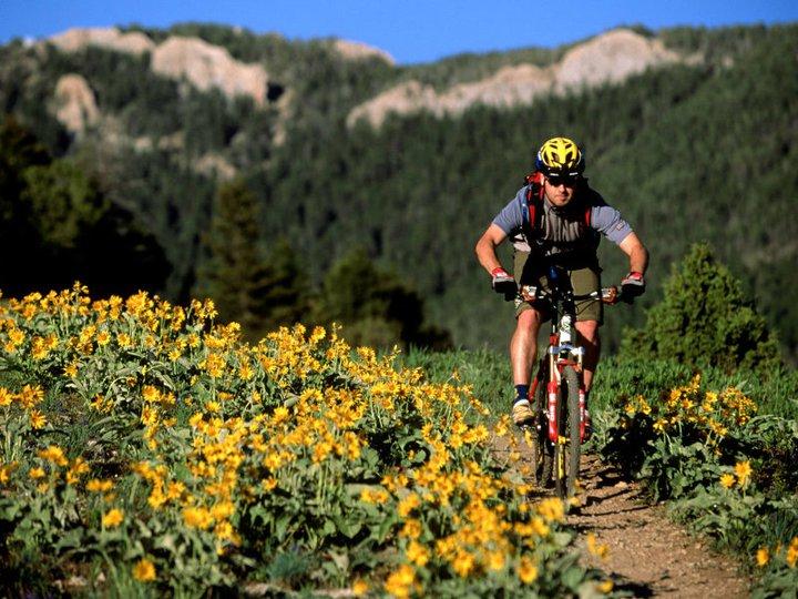 A Montana man mountain biking -- in his state, marijuana is back on the menu following the 2016 election