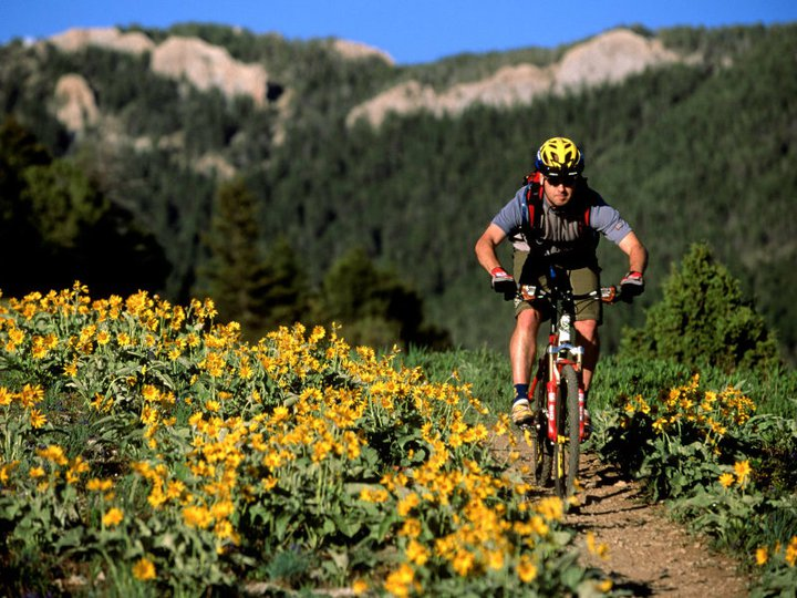 A Montana man mountain biking -- in his state, marijuana is back on the menu following the 2016 election