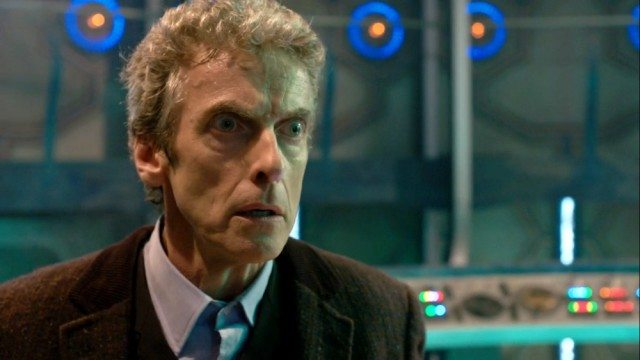 Peter Capaldi in 'Doctor Who'.