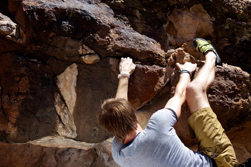 rock climbing, bouldering