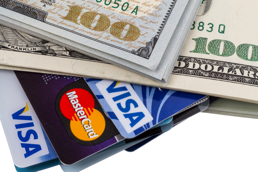 money and credit cards