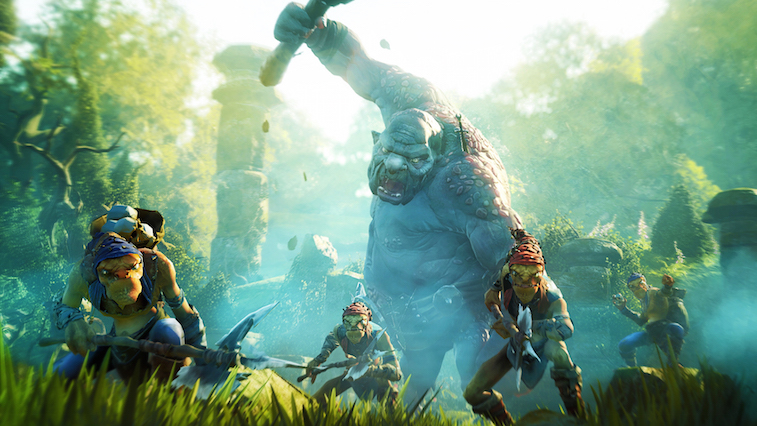 A screenshot from the cancelled game Fable Legends., rumors