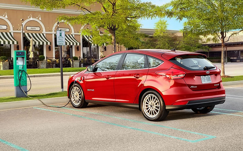 Ford Focus Electric charging