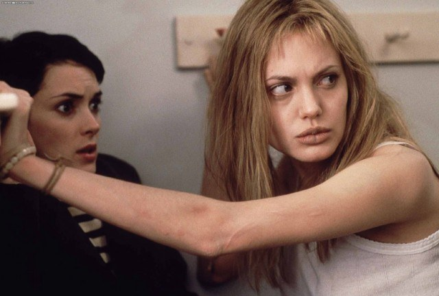 Winona Ryder and Angelina Jolie in 'Girl, Interrupted.'