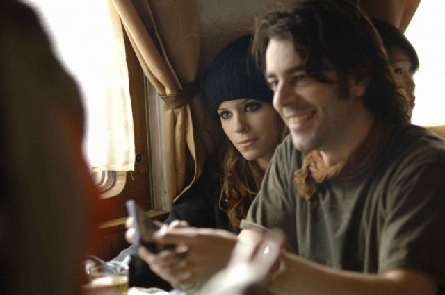Kate Mara and Eduardo Noriega in 'Transsiberian.'