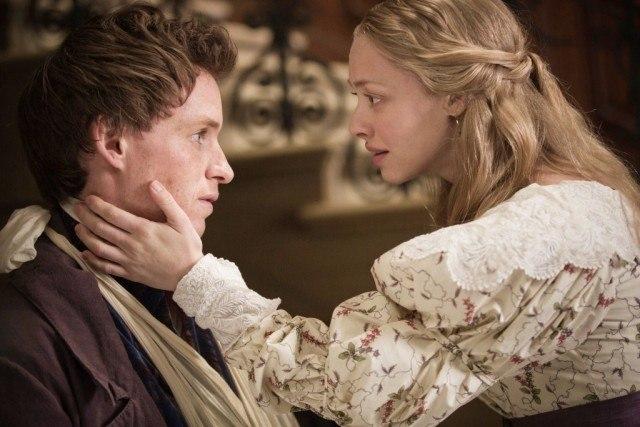 Eddie Redmayne and Amanda Seyfried in 'Les Miserables.'