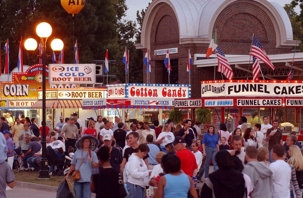 concession stands at iowa state fair