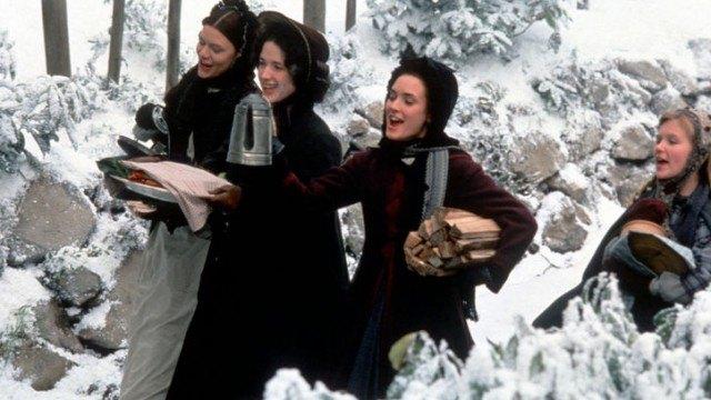 Claire Danes, Trini Alvarado, Winona Ryder, Kirsten Dunst in 'Little Women.'