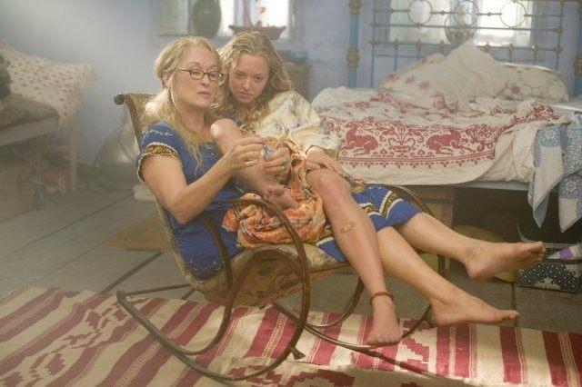 Meryl Streep and Amanda Seyfried in 'Mamma Mia!'