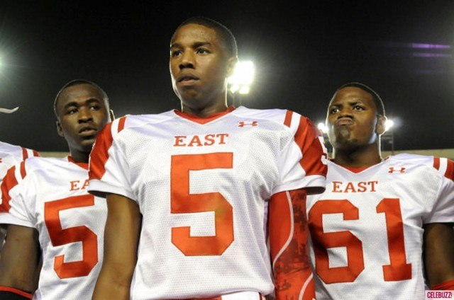 Michael B. Jordan in 'Friday Night Lights.'