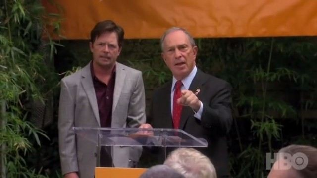 "Michael Bloomberg on ""Curb Your Enthusiasm"""