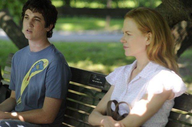 Miles Teller and Nicole Kidman in 'Rabbit Hole.'