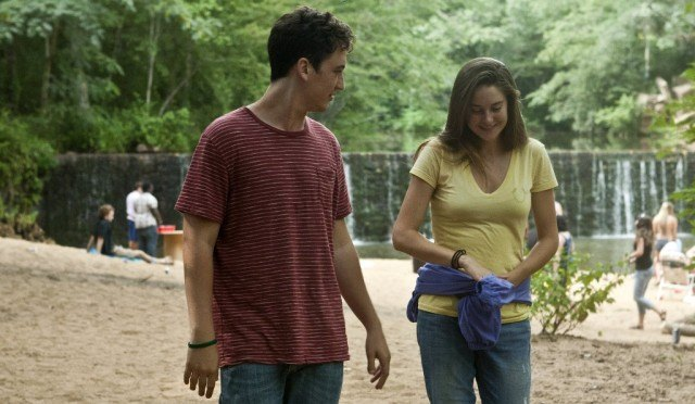 Miles Teller and Shailene Woodley in 'The Spectacular Now.'